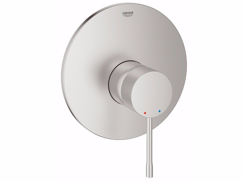 Single handle shower mixer with plate ESSENCE NEW | Shower mixer with plate by Grohe