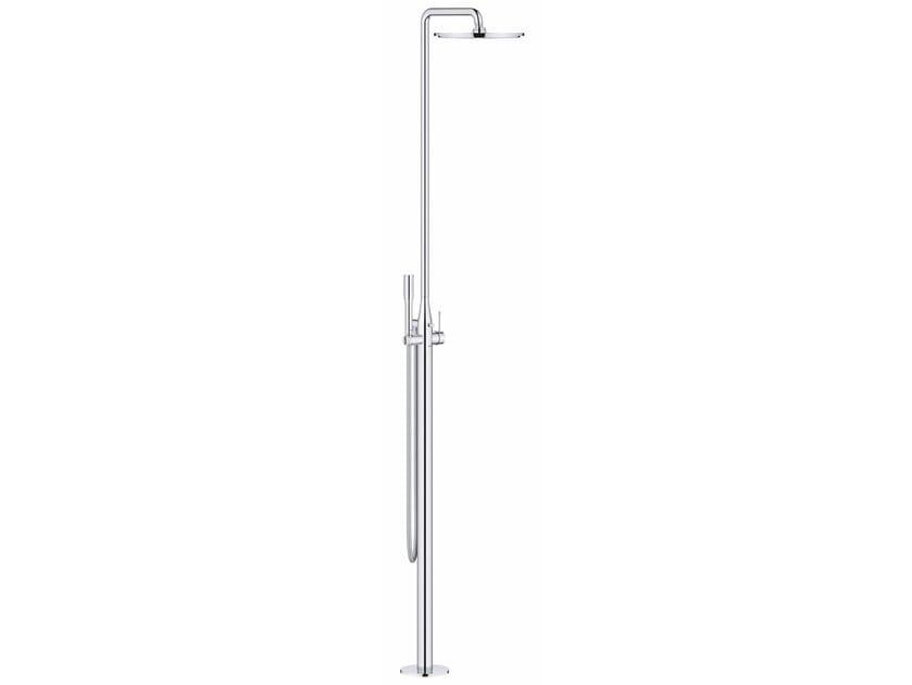 Floor standing shower panel with diverter ESSENCE NEW | Floor standing shower panel by Grohe