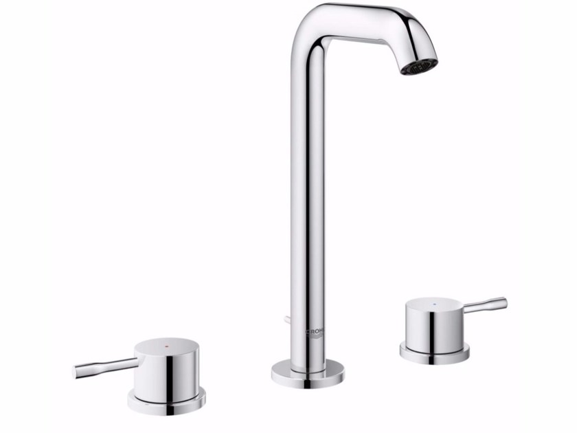 3 hole countertop washbasin tap ESSENCE NEW - SIZE L | 3 hole washbasin tap - Grohe