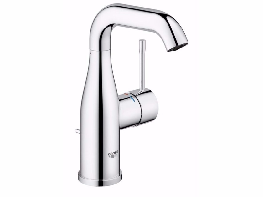 Countertop single handle washbasin mixer with adjustable spout ESSENCE NEW - SIZE M by Grohe