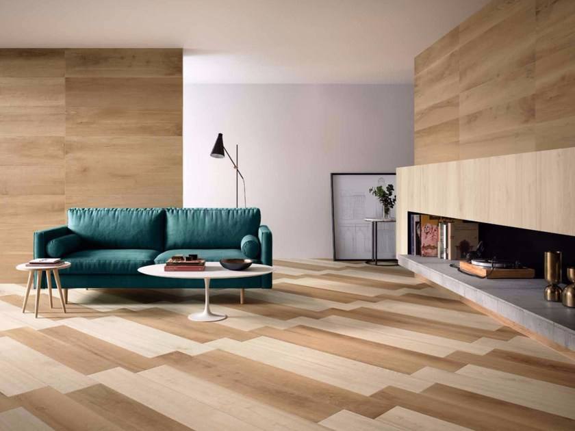 Porcelain stoneware wall/floor tiles with wood effect ESSENCES EXTRA   Wall/floor tiles by Marca Corona