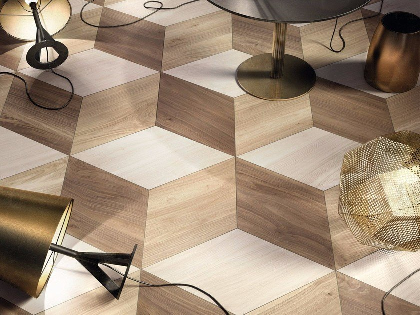 Porcelain stoneware wall/floor tiles ESSENTIAL by Ariana Ceramica