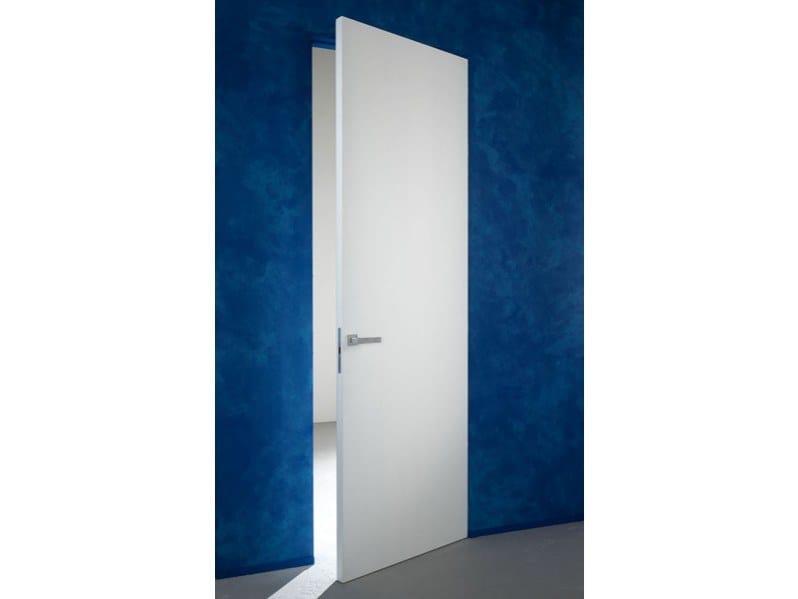 Porta a battente a filo muro senza fuga essential battente for Porte a battente