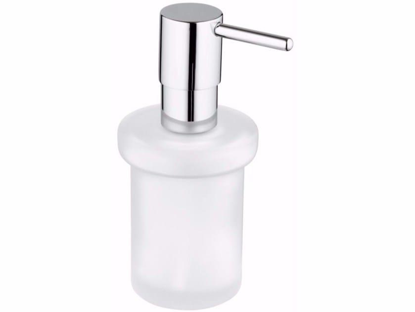 Glass liquid soap dispenser ESSENTIALS | Liquid soap dispenser - Grohe