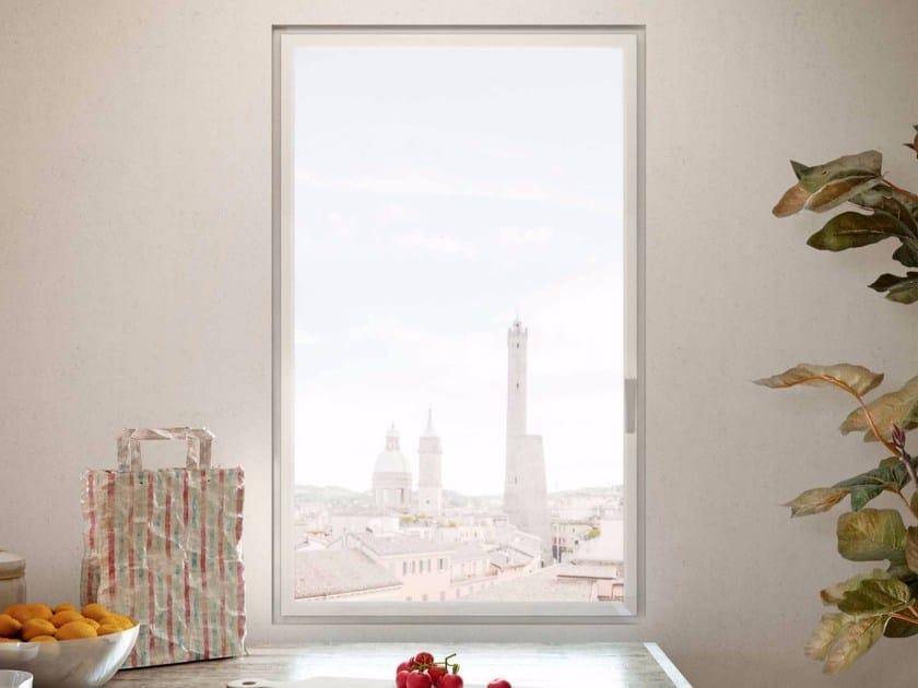 Finestra a battente in alluminio es zeroframe es finestra - Costruire una finestra in alluminio ...