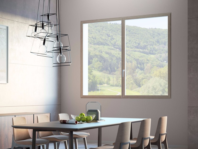 Finestra A Filo Muro A Taglio Termico In Alluminio Ester