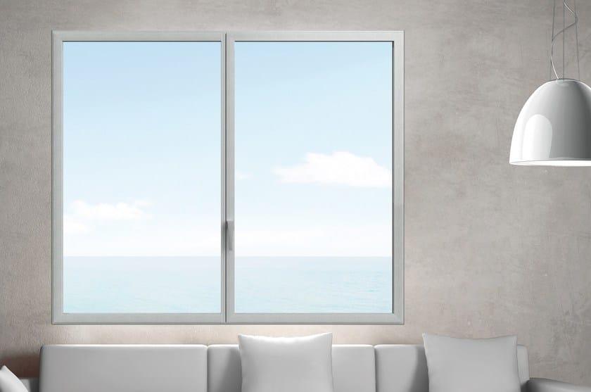 Finestra a filo muro a taglio termico in alluminio ester es finestra - Finestre a taglio termico ...