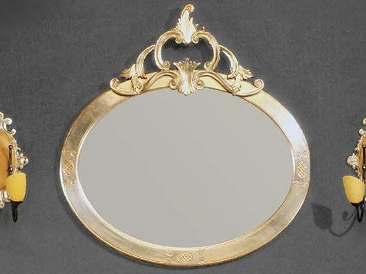 Wall-mounted framed mirror ESTER | Mirror - Arvestyle