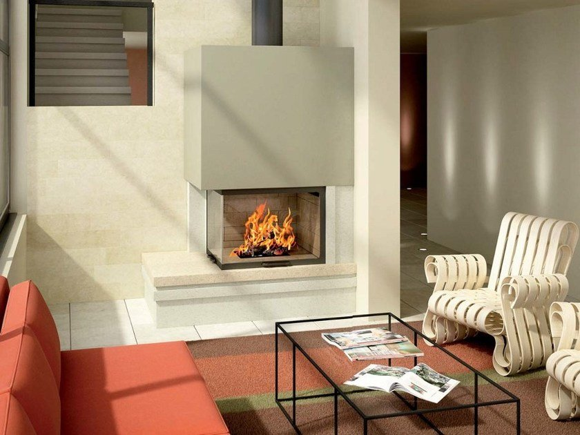 Stone Fireplace Mantel ESTHER - Axis