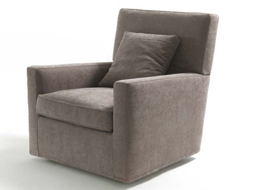 Fabric armchair with removable cover with armrests ESTHER | Fabric armchair - FRIGERIO POLTRONE E DIVANI