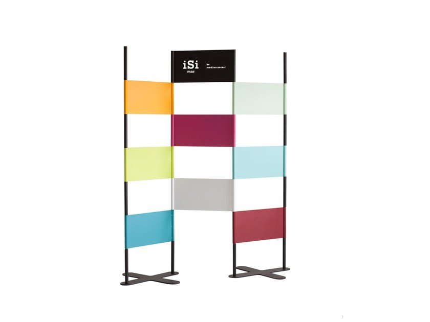 Galvanized steel room divider ESTHER & TONIN by iSimar