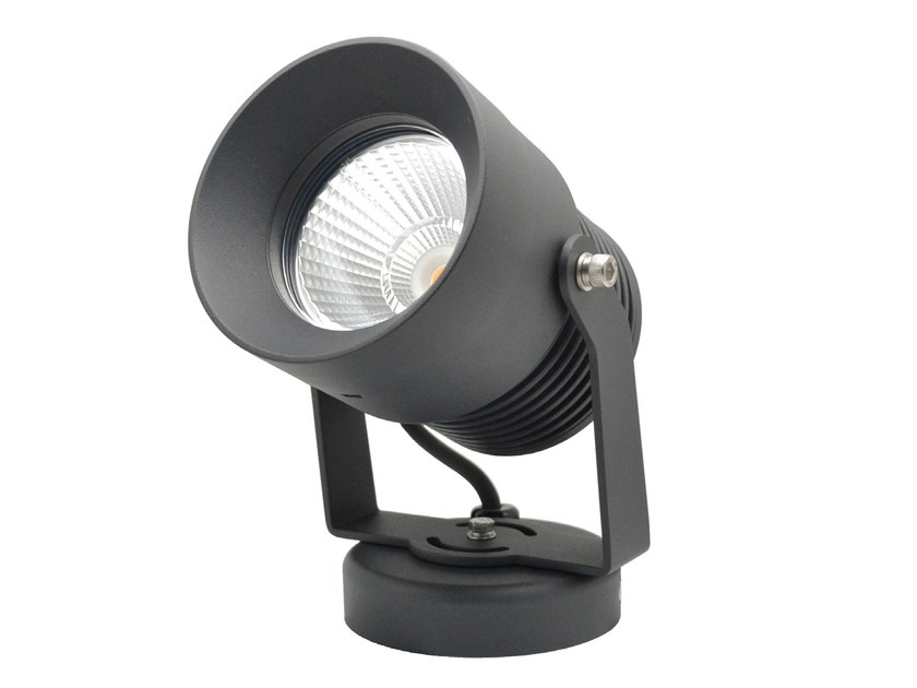 LED adjustable aluminium Outdoor floodlight ESTOQUE 18W - LED BCN Lighting Solutions