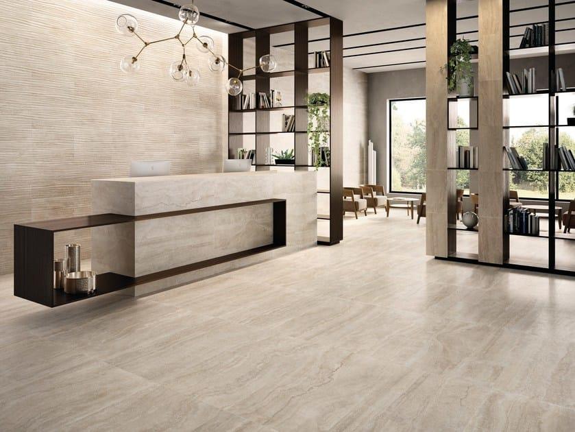 Porcelain stoneware wall/floor tiles ETERNA BEIGE by EmilCeramica
