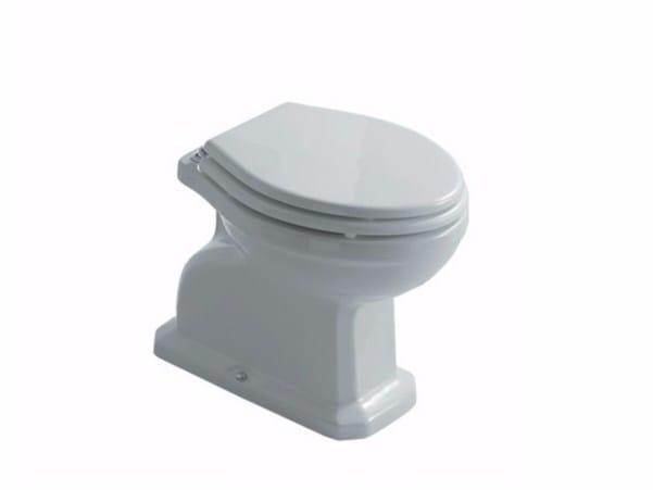 Ceramic toilet ETHOS 8418 | Toilet by GALASSIA
