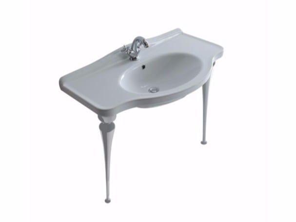 Console washbasin ETHOS 95 | Console washbasin - GALASSIA