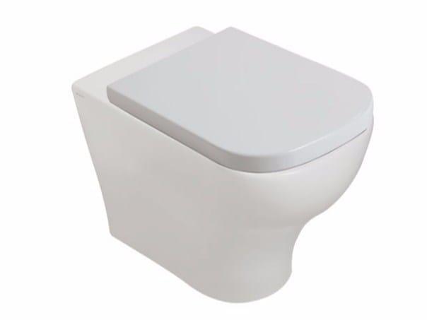 Ceramic toilet PLUS DESIGN | Toilet - GALASSIA