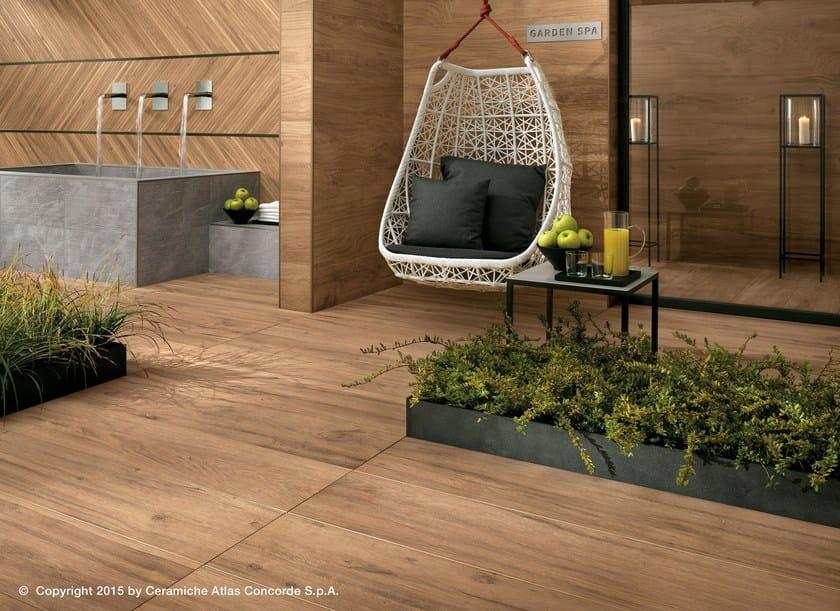 Garden floor tiles