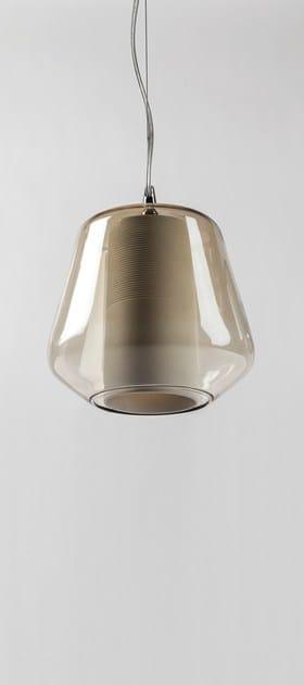lampada a sospensione in vetro soffiato etica | lampada a ... - Lampade Arabe Italia