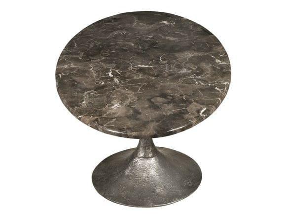 Round marble coffee table ETNA COCKTAIL - Hamilton Conte Paris