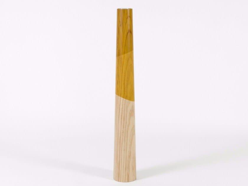 Pine candle holder ETNA L - Woodendot