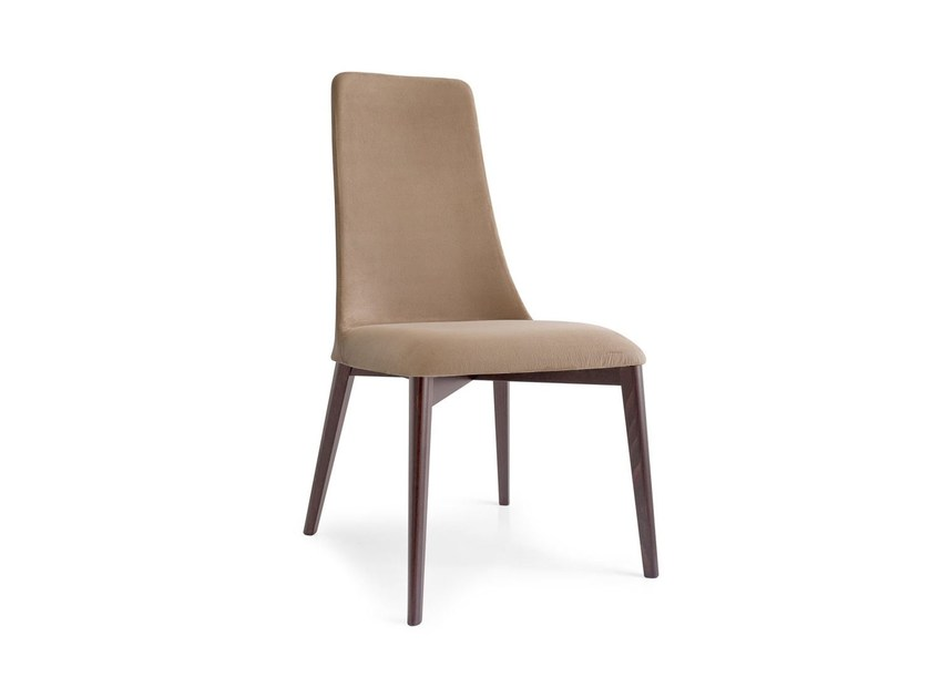 Upholstered fabric chair ETOILE | Fabric chair - Calligaris