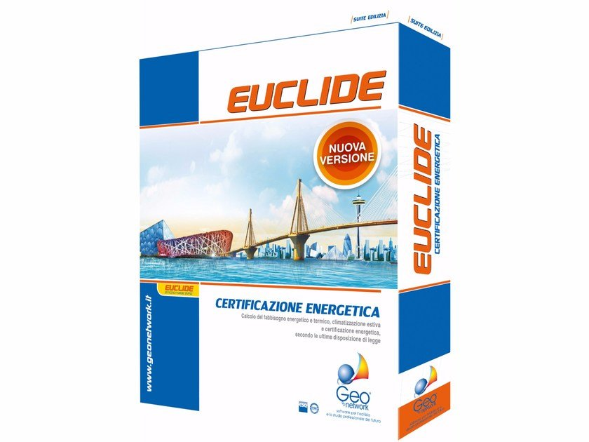 Energy certification EUCLIDE CERTIFICAZIONE ENERGETICA PRO by GEO NETWORK