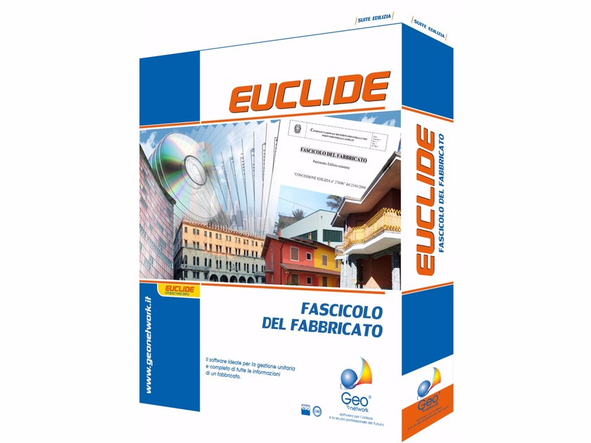 Building yard form and compliance management EUCLIDE FASCICOLO DEL FABBRICATO - GEO NETWORK