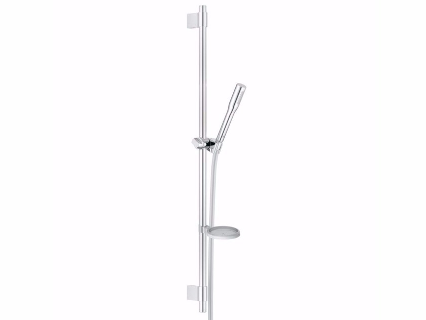 Chrome-plated shower wallbar with hand shower EUPHORIA COSMOPOLITAN STICK | Shower wallbar by Grohe