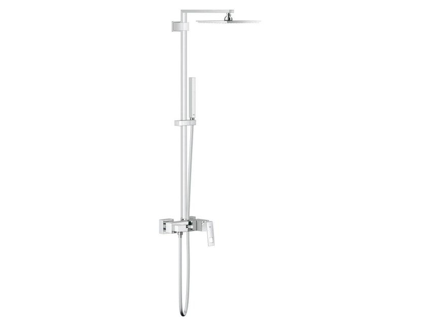 Wall-mounted shower panel with overhead shower EUPHORIA CUBE XXL SYSTEM 230 | Shower panel - Grohe