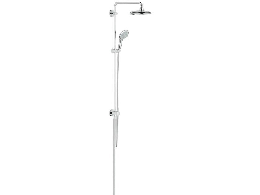 Wall-mounted shower panel with diverter EUPHORIA POWER&SOUL SYSTEM 190 by Grohe