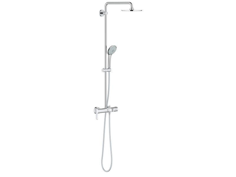 Wall-mounted shower panel with overhead shower EUPHORIA XXL SYSTEM 210 | Shower panel - Grohe