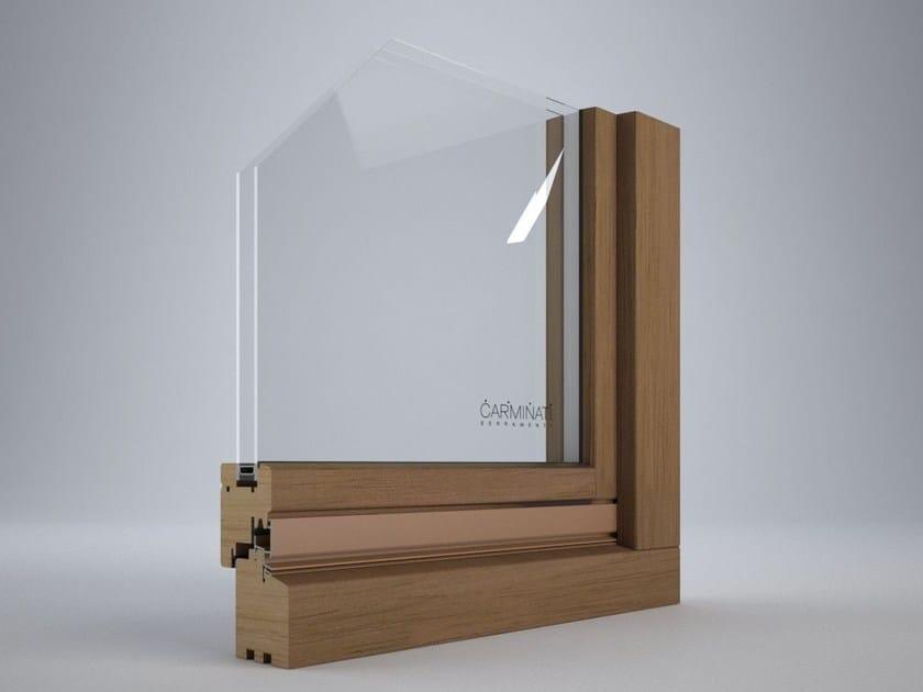 Finestra a vasistas in legno euro 68 finestra a vasistas carminati serramenti - Finestra vasistas prezzi ...