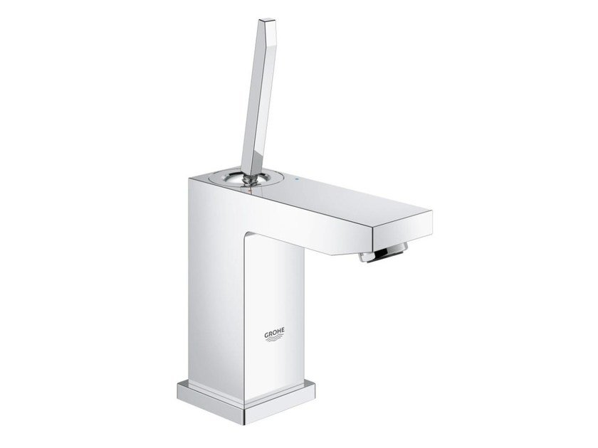 Countertop single handle 1 hole washbasin mixer EUROCUBE JOY SIZE S | Washbasin mixer without waste - Grohe
