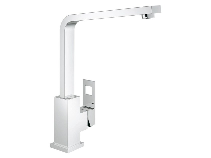 Eurocube Kitchen Mixer Tap By Grohe