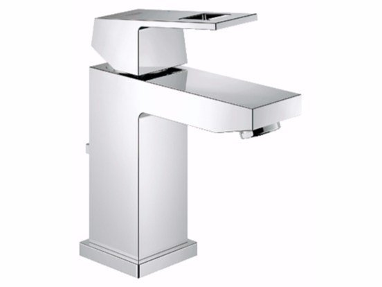 Countertop washbasin mixer with temperature limiter EUROCUBE SIZE S | Washbasin mixer - Grohe
