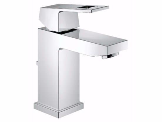 Countertop washbasin mixer with temperature limiter EUROCUBE SIZE S | Washbasin mixer - Grohe