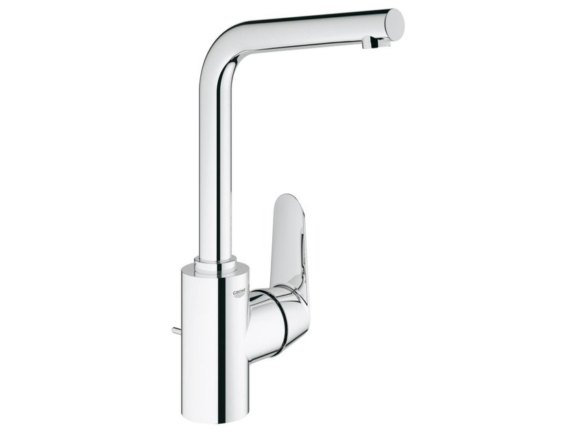 Countertop single handle washbasin mixer with adjustable spout EURODISC COSMOPOLITAN SIZE L | Washbasin mixer with pop up waste - Grohe