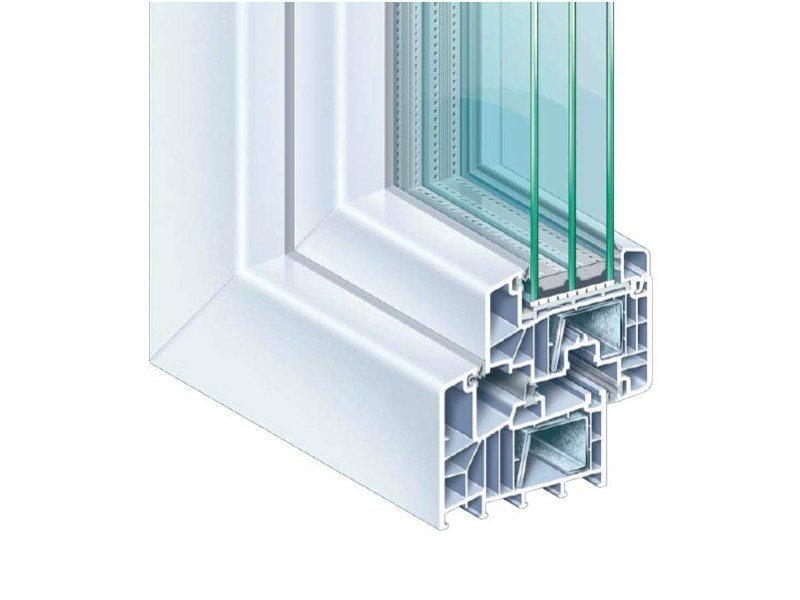 PVC casement window EUROFUTUR MD 88 PLUS - PIVA GROUP