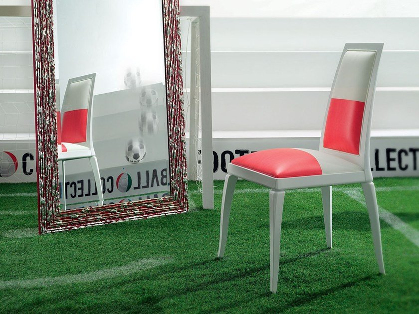 Leather chair EUROPA LEAGUE | Chair by Modenese Gastone