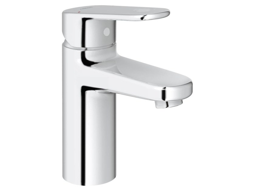 Countertop single handle washbasin mixer with temperature limiter EUROPLUS C SIZE S | Washbasin mixer without waste - Grohe