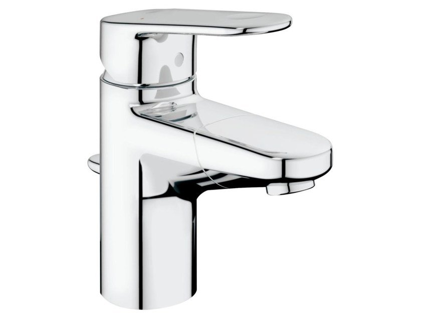 Countertop single handle washbasin tap with temperature limiter EUROPLUS C SIZE S | Washbasin tap with spray by Grohe