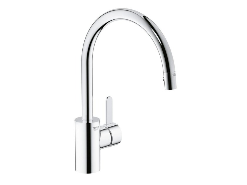 Countertop 1 hole kitchen mixer tap with swivel spout EUROSMART COSMOPOLITAN | Kitchen mixer tap with aerator - Grohe