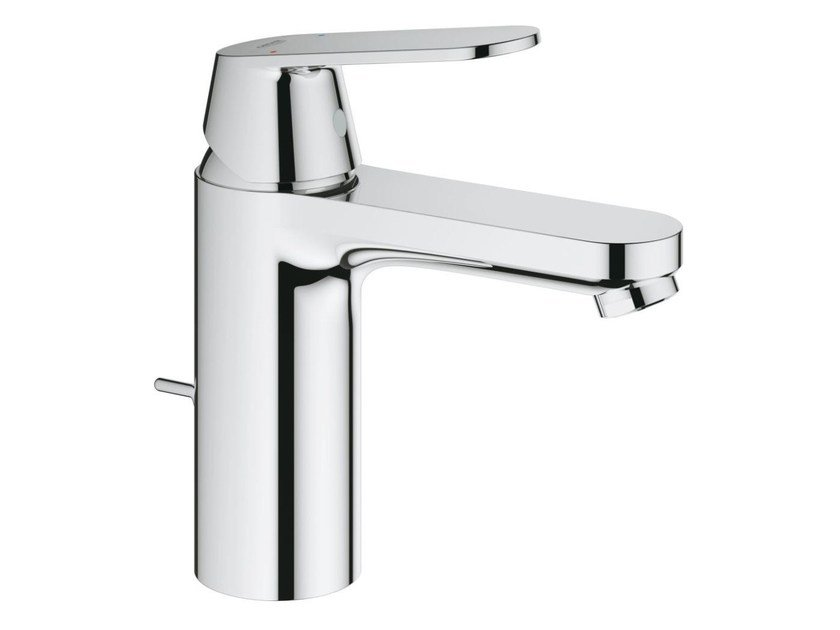 Countertop single handle washbasin mixer EUROSMART COSMOPOLITAN SIZE M | Washbasin mixer with pop up waste by Grohe