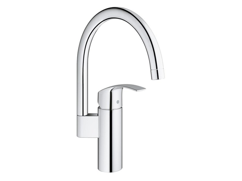 Countertop 1 hole kitchen mixer tap EUROSMART | Kitchen mixer tap with swivel spout - Grohe