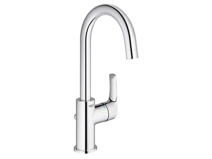 Countertop single handle washbasin mixer with adjustable spout EUROSMART SIZE L | Washbasin mixer - Grohe