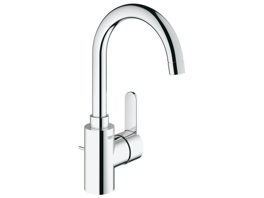 Countertop single handle washbasin mixer with adjustable spout EUROSTYLE COSMOPOLITAN SIZE L | Washbasin mixer - Grohe