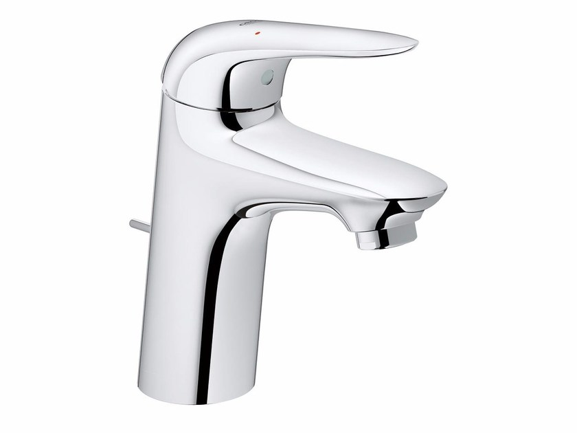 Countertop single handle washbasin mixer EUROSTYLE NEW SIZE S | Washbasin mixer with pop up waste by Grohe