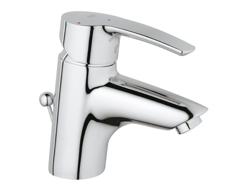 Countertop single handle washbasin mixer EUROSTYLE SIZE S | Washbasin mixer with pop up waste - Grohe