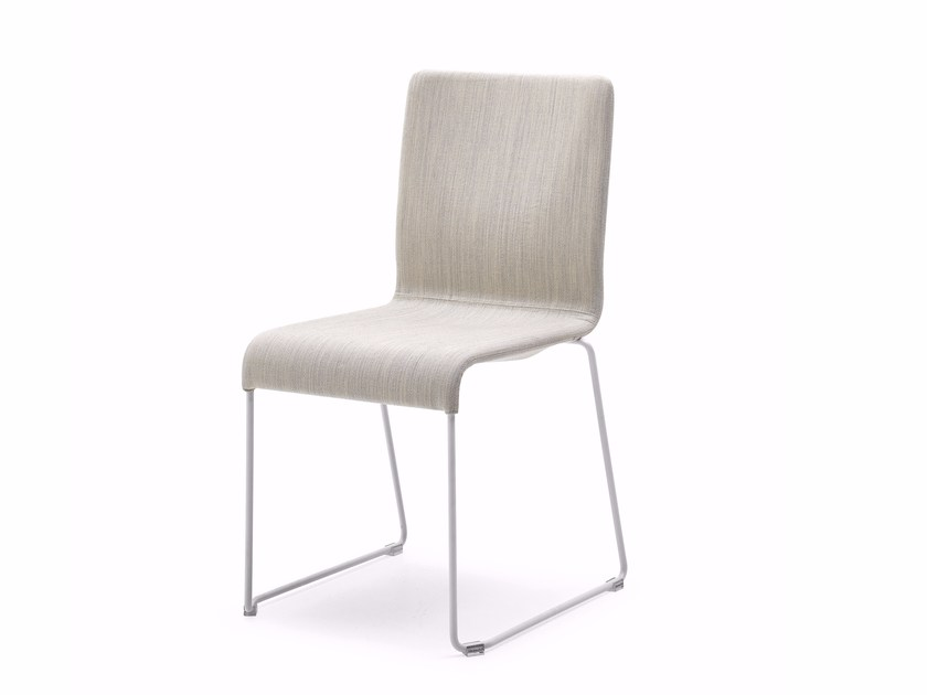 Sled base chair EVA | Chair - Varaschin