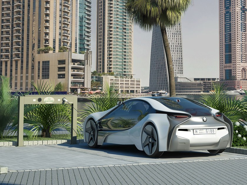 Power distribution unit for cars EVO-CAR by Giulio Barbieri